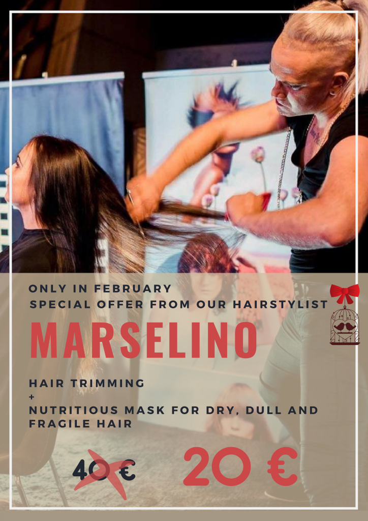 special offer Marselino hairstylist
