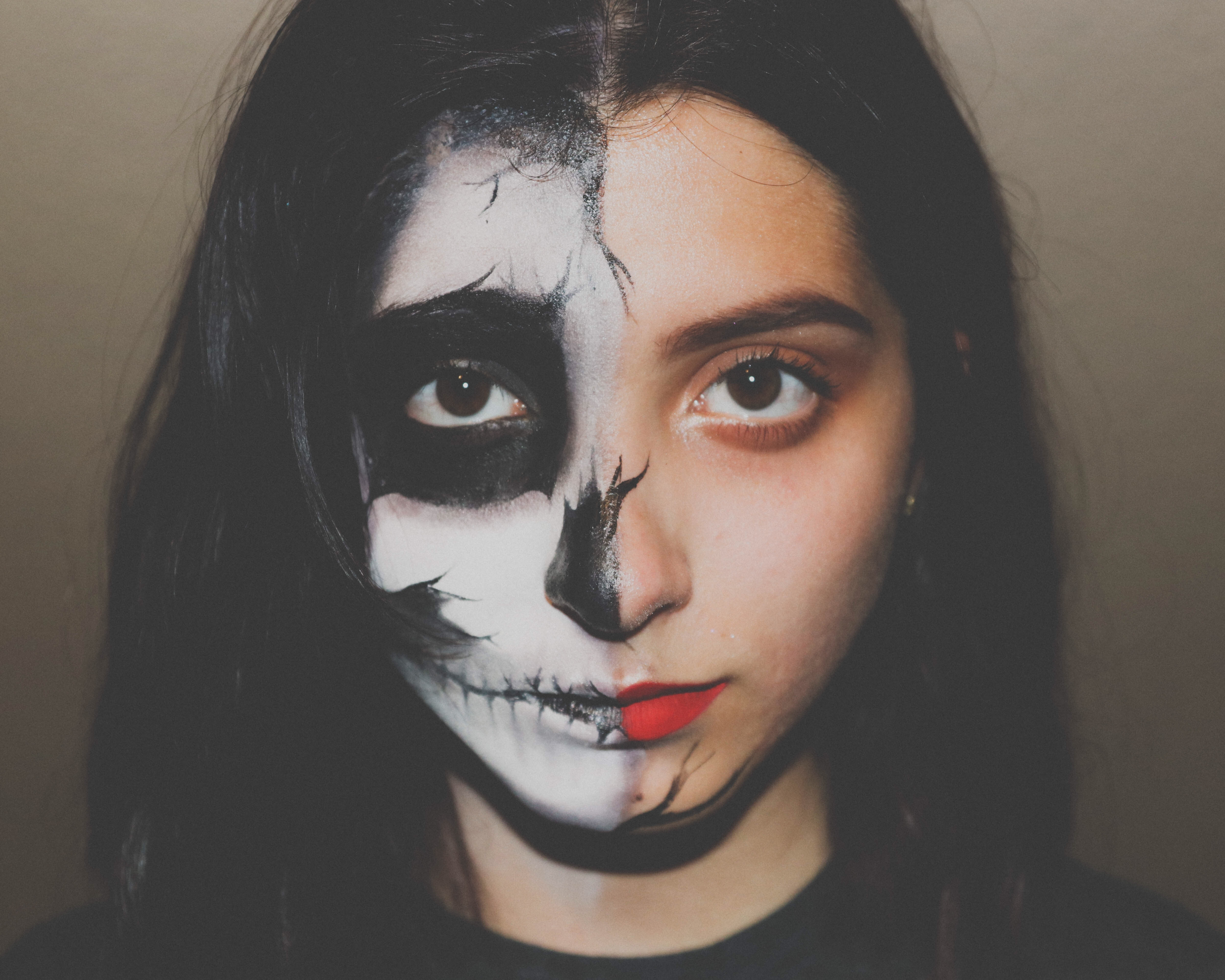 Helovīna jeb visu svēto dienas make-up