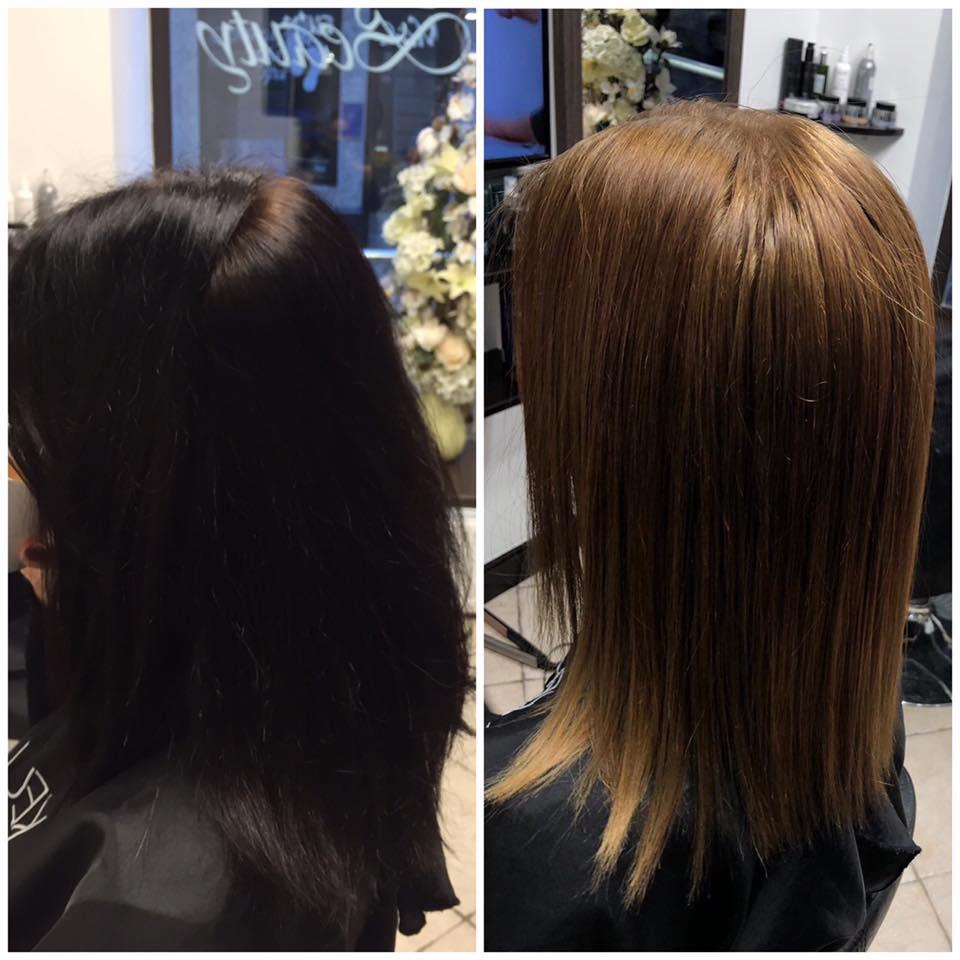 No tumšmates par blondīni - matu krāsas noņemšana