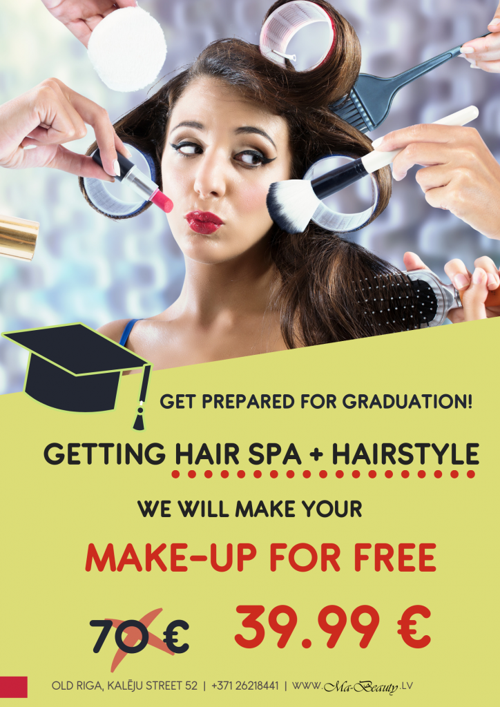 hair and make-up special price